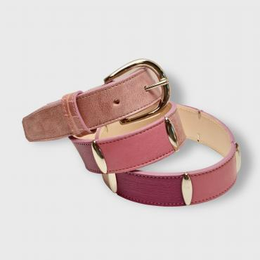 Belt CAMAÏEU de ROSE