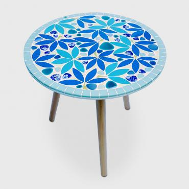 Side table Jardin Blue