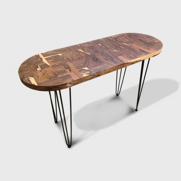 Table Patchwork Ziricote Console ou table basse