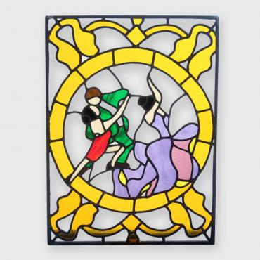 Stained-glass window Tango