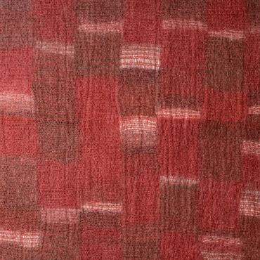 Carpet Mesh&felt Red/Brown