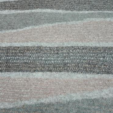 Carpet Mesh&felt Grey/pinky brown