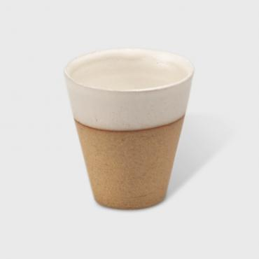Coffee cup Sarlat white
