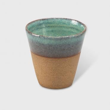 Coffee cup Sarlat turquoise