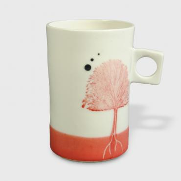 Tasse Arbres rouges