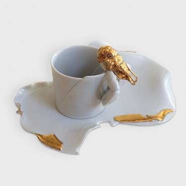 Cup and plate Lobster