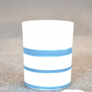 Cup expresso blue lines