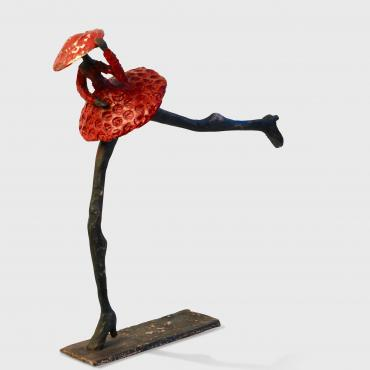 Sculpture Bronze Tout Flamme Collection Colorart