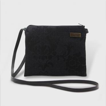 Small Crossbody bag Arabesque black