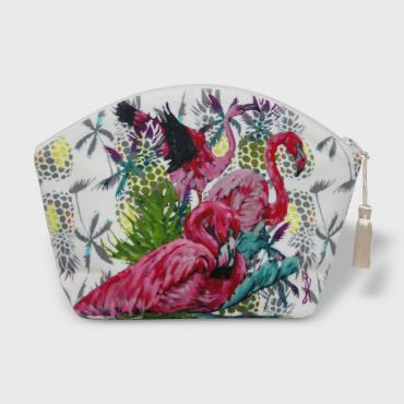 Trousse maquillage Flamant