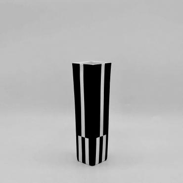 Vase carré Zebra Two S