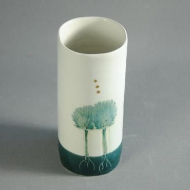 Vase Arbres light green (small)