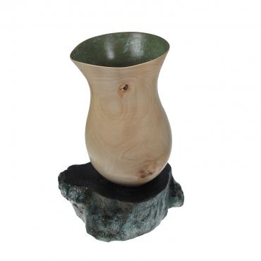 Decorative vase Lovat green
