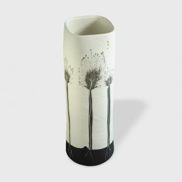 Vase Arbres black (tall)