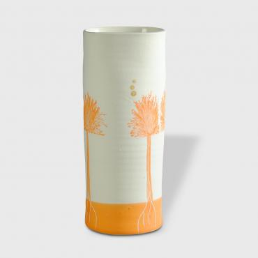 Vase Arbres orange small