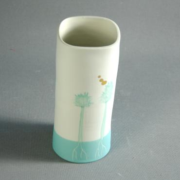 Vase small Arbres light green