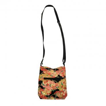 Shoulder bag Pivoines Or