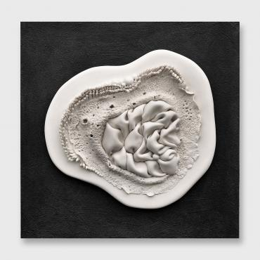 Bas relief contemporain Ebullition