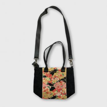 Mini Tote Bag Pivoines Or