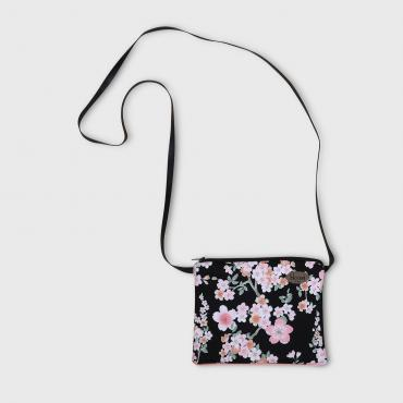 Small crossbody bag Sakura black