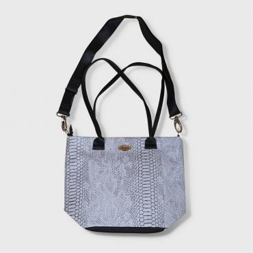Sac mini Tote Bag Serpent gris