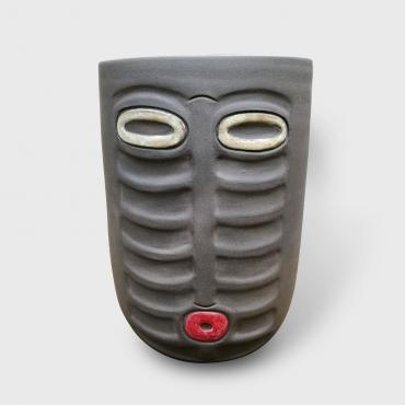Vase inspiration africaine collection masque