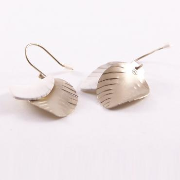 Earrings Plumes Medium chic