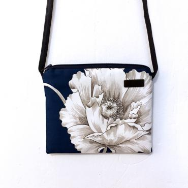Small shoulder bag Encre Bleu